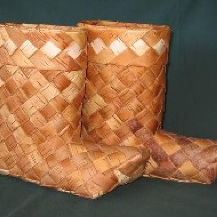 Birch Bark Weaving: The Project Series: Footwear
