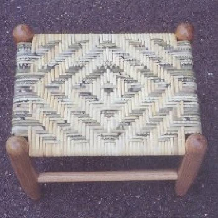 Over the Rail: The Woven Footstool